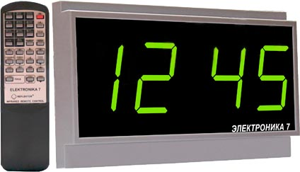 Часы настенные | Электроника 7 | Часофикация | Сети-Телеком