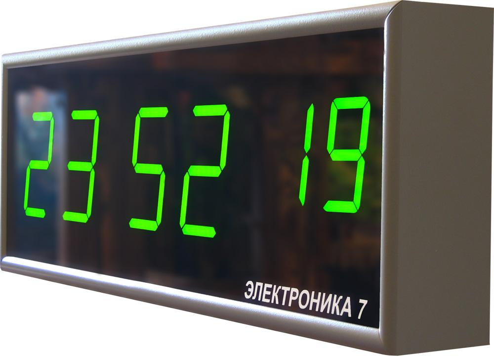 Электронные часы настенные, электронные табло Электроника 7, производство Рефлектор